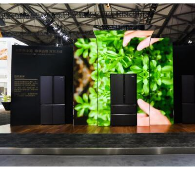 卡萨帝冰箱天成系列亮相AWE 预计下半年上市
