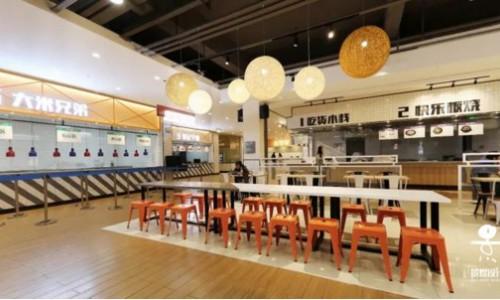 景煜设计快乐食间-西南政法大学学校食堂设计